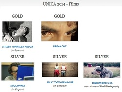 Image of the page with films from 2014.