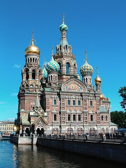 Photo of the Chuech of the Saviour, St. Petersburg